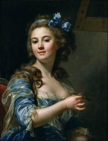 Marie-Gabrielle Capet, Self Portrait (1784)